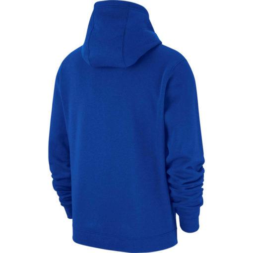 niebieska bluza z kapturem nike z logo ks ursus