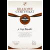 Brazowy certyfikat Lojalny Kibic KS Ursus Warszawa